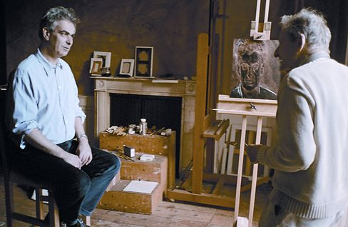 Martin Gayford and Lucian Freud