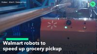 relates to Walmart Employs Robots in Online Grocery Battle