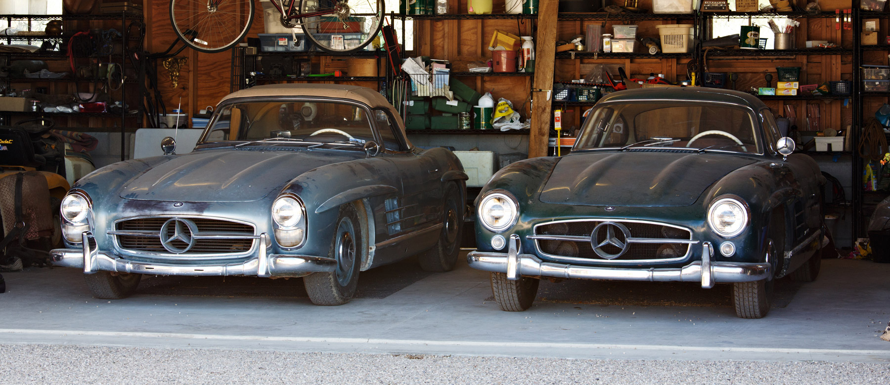 Will This Pair Of Mercedes Benz 300sls Set A Sale Record Bloomberg