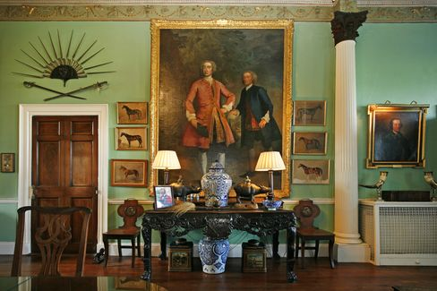 The collection of furnishings, décor, and art is offered separately from the rest of the estate.