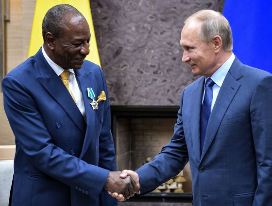 Putin's Notorious 'Chef' Is Now Meddling Across Africa