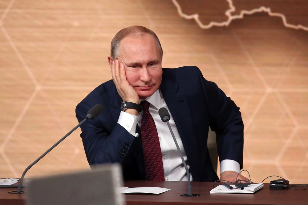 Putin Saw A World In Turmoil And Decided It Needs More Putin Bloomberg