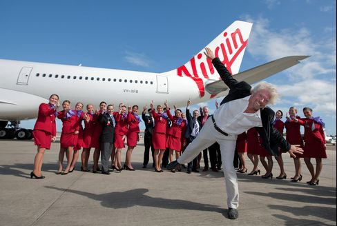 Branson's Virgin Seeks U.S. Car-Rental Entry by Buying Advantage