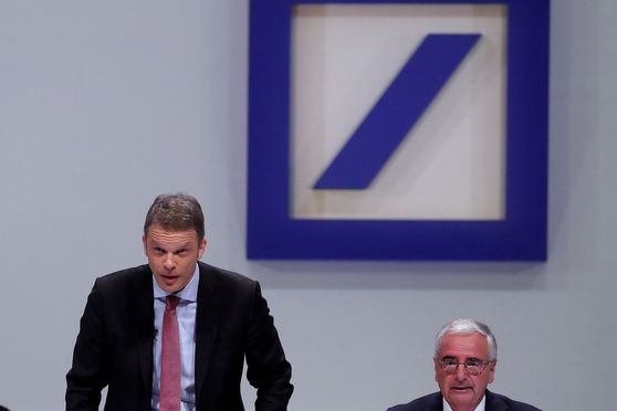 Deutsche Bank AG Chief Executive Officer Christian Sewing Attends Annual General Meeting As Lender Announces 7,000 Job Cuts
