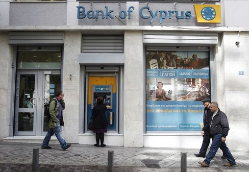 Russia Rules Out Rescue for Cyprus Savers at Risk of Losing Cash