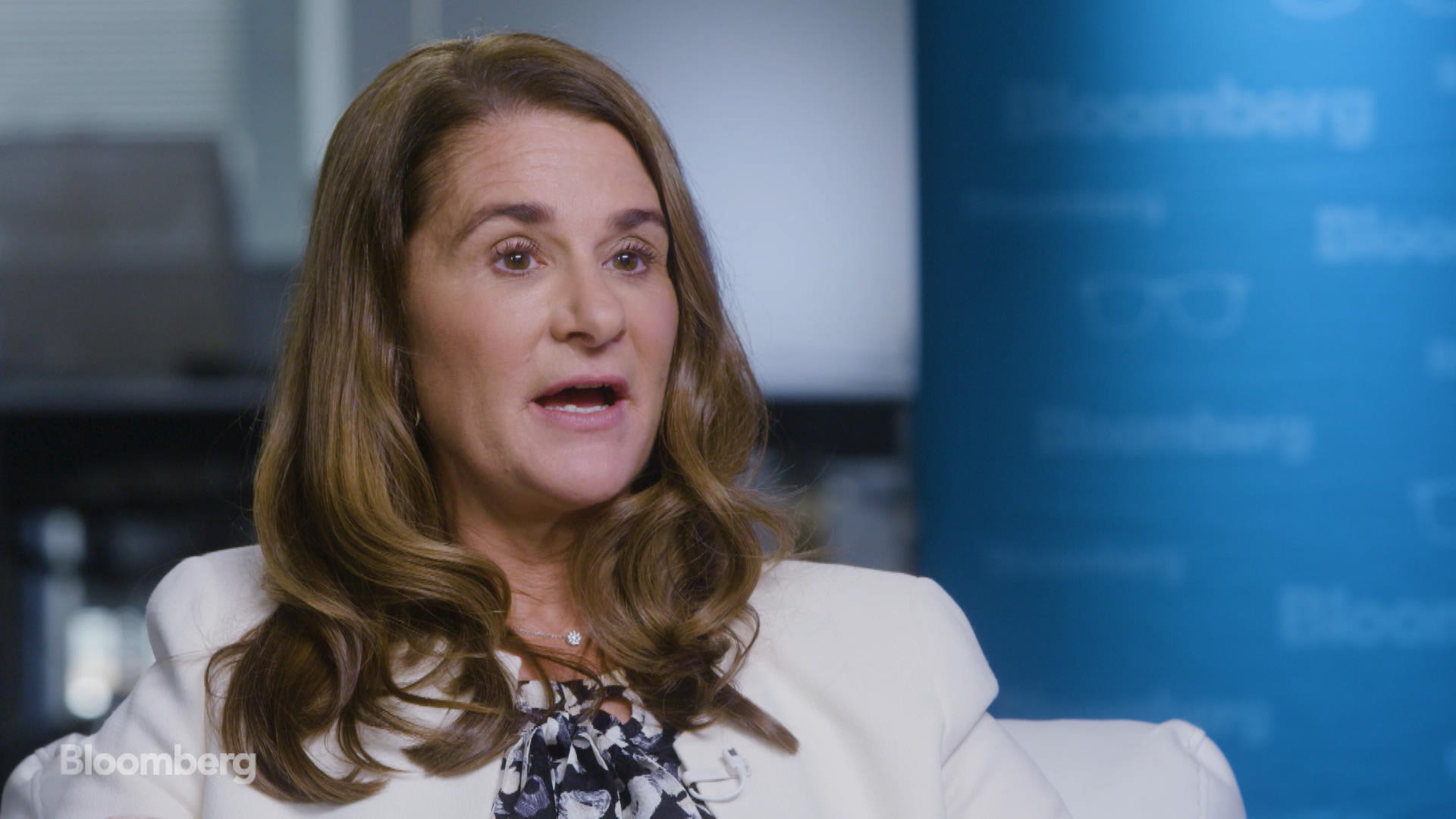 Melinda Gates was late for a dinner party - and met her future husband