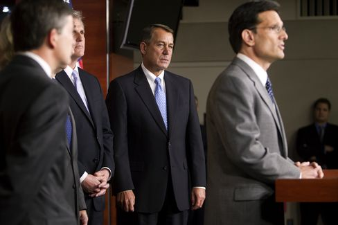 John Boehner and Eric Cantor