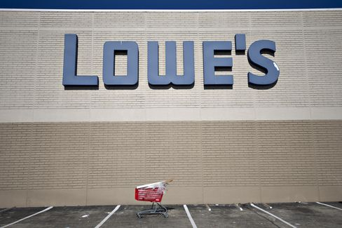 Lowe's to Home Depot Sales Gains Contingent on Housing Comeback