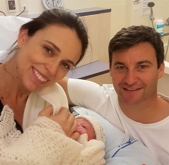 New Zealand Prime Minister Jacinda Ardern Welcomes Baby Girl