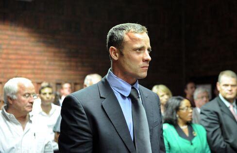 South African Paralympian Oscar Pistorius