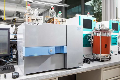 A machine used to analyze cell cultures was nicknamed Lil'Wayne.
