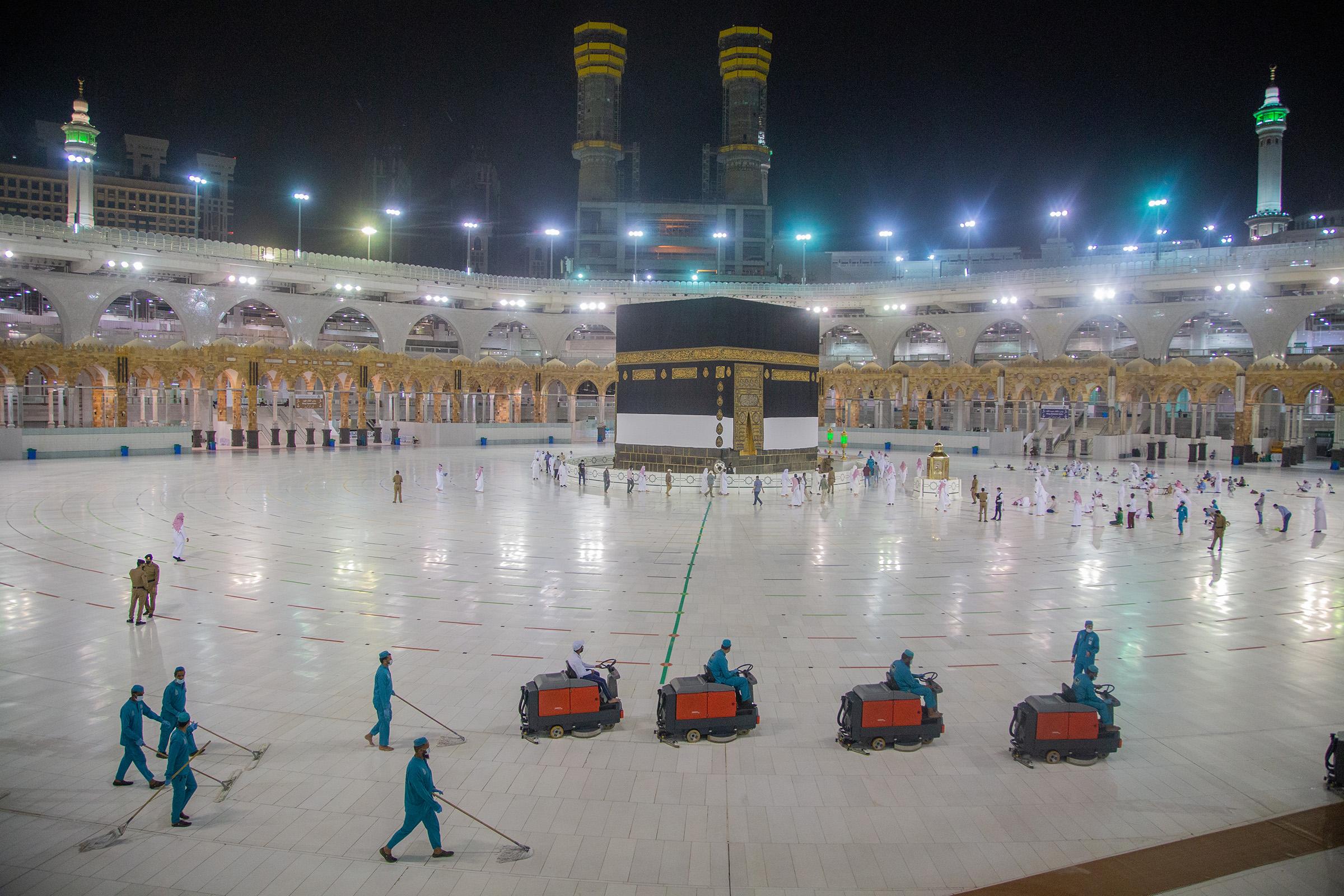 Saudi Arabia Hajj 2020