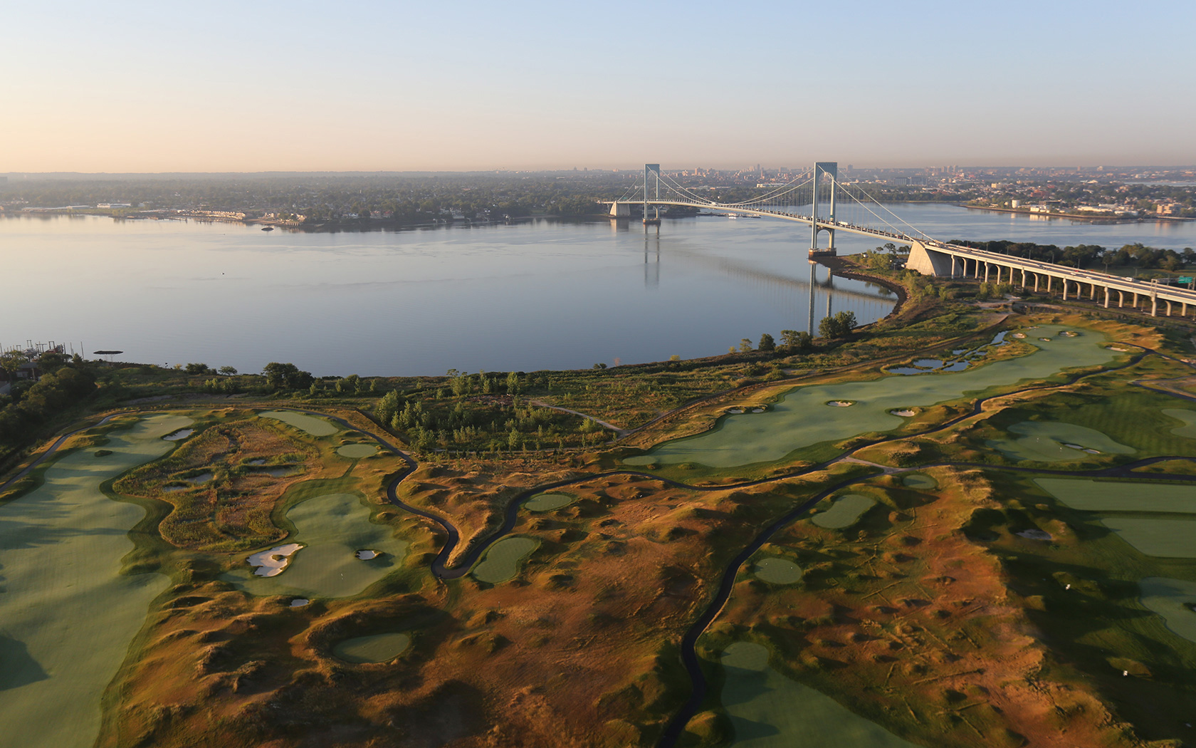 Ferry Point Golf Course in the Bronx