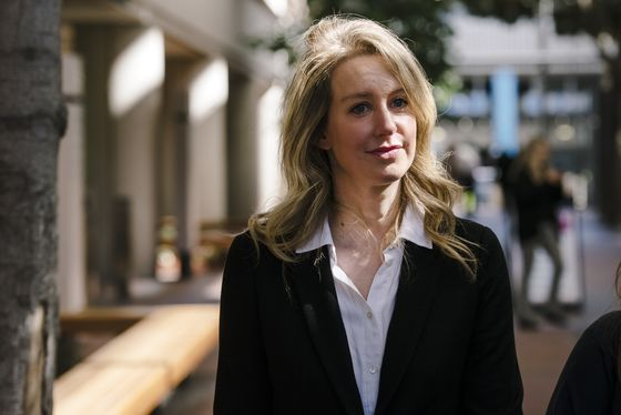 Elizabeth Holmes, Judge May Go Unmasked at Criminal Trial