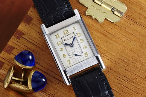The Reference 48 looks every bit the part of an inter-war watch.