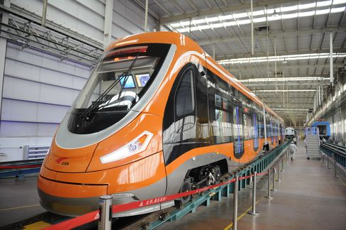 China's Qingdao Sifang just rolled out anew hydrogen-powered tram, the first of its kind in the world