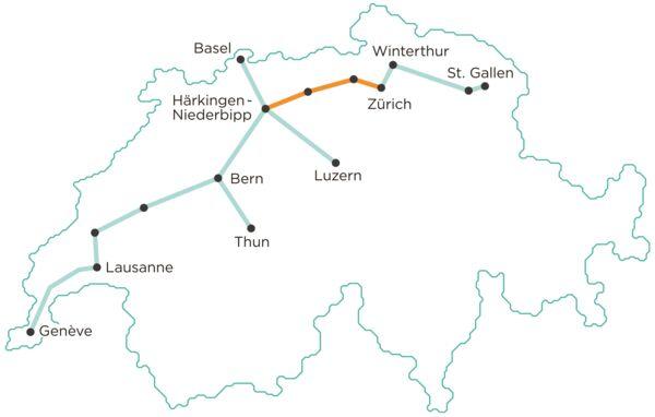 relacionado con Swiss Investors Map Out Futuristic Plan for Cargo Underground