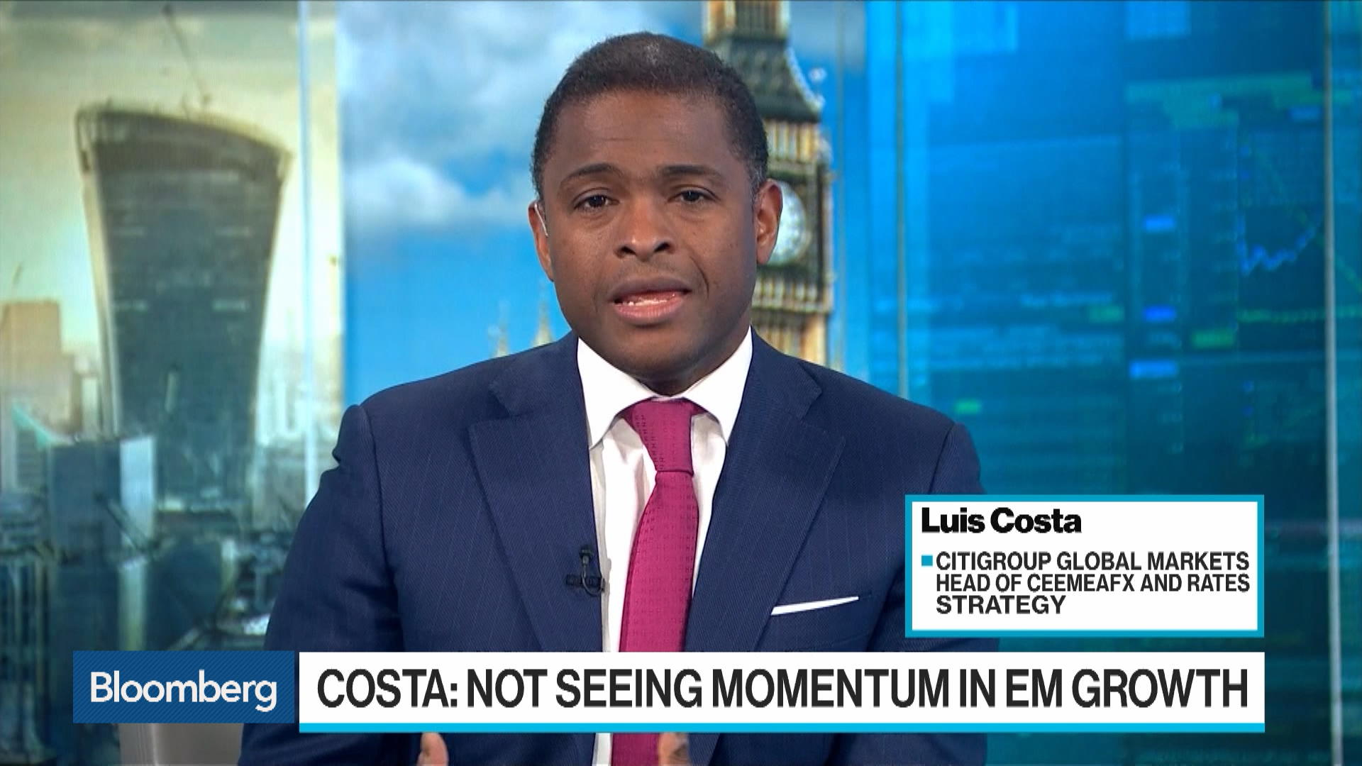 China Stimulus Not Having an Impact Across EM, Citi's Costa Says