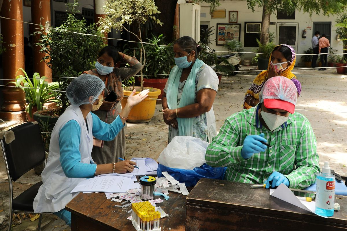 Coronavirus Super-Spreaders Drove Explosive Outbreak in India