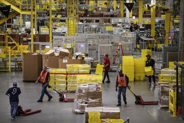 Inside An Amazon.com Inc. Fulfillment Center On Cyber Monday