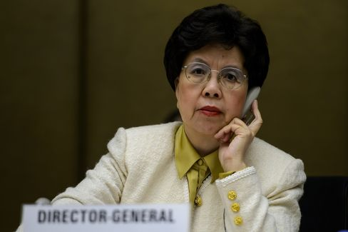 World Health Organization Director-General Margaret Chan
