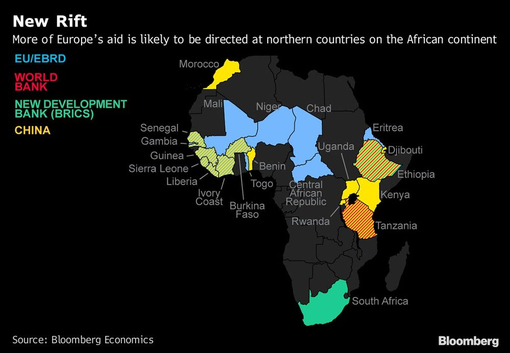 New Africa Map.Europe S Focus On Migration Set To Create New Africa Rifts Map