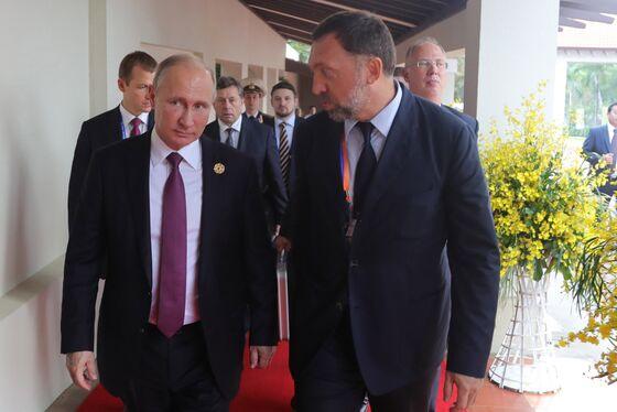 Putin Joins Trump in Finding Ways to Ease Deripaska's Pain