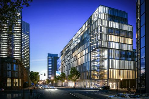 Deutsche Bank AG's new Trading and Asset Management Offices