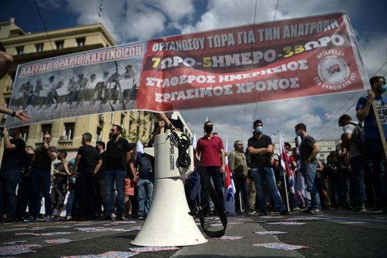 Greeks Strike to Protest Threat of Being Duped by Four-Day Week