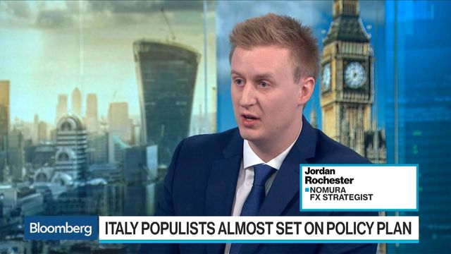Italy's Fanciful Coalition Draft Draws Investors' Incredulity-For Now