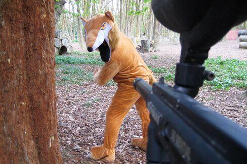 A Fix for Forlorn U.K. Hunters: Paintball Fox Hunt