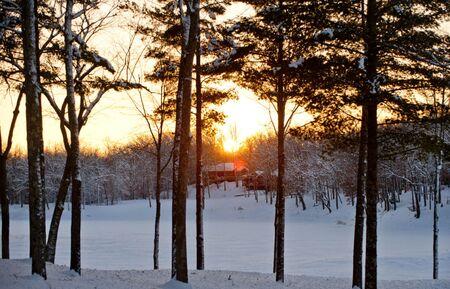 Canoe Bay, a romantic winter wonderland in Wisconsin.