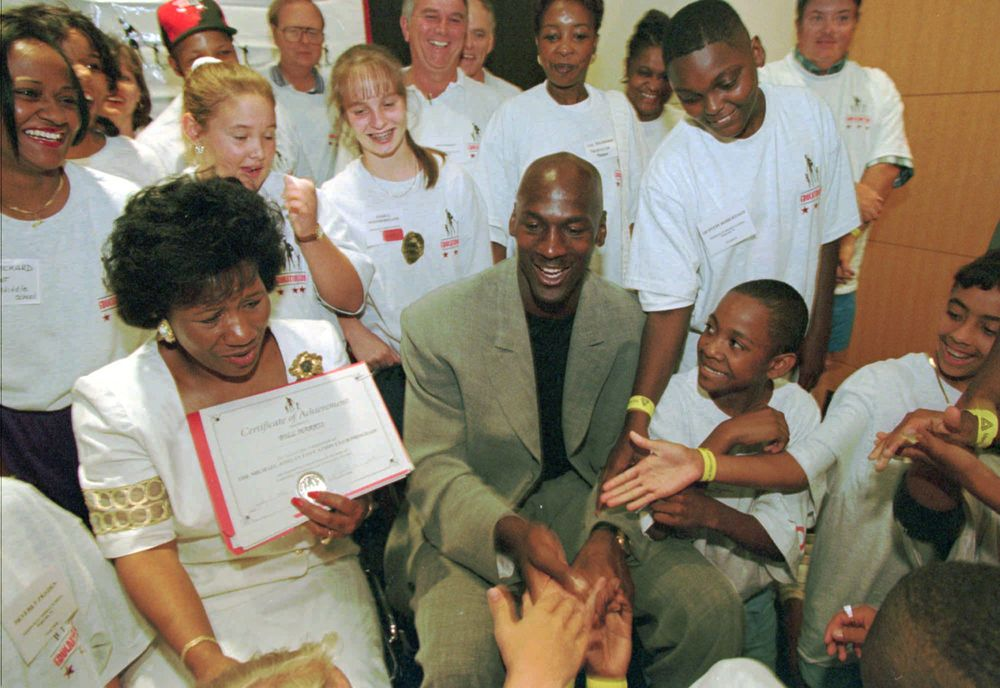 The Latest: Michael Jordan's Mother Has Message for NBA Moms