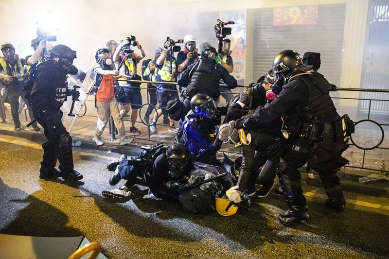 Hong Kong Braces for More Weekend Unrest After Tear Gas, Clashes