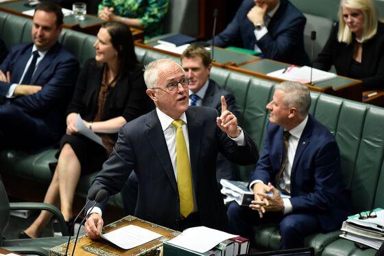 Turnbull Seeks Support for Big-Business Tax Cuts in Australia