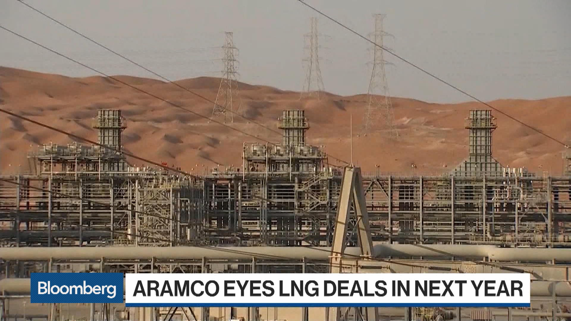 Aramco Eyes LNG Deals in Next Year in New Gas Strategy