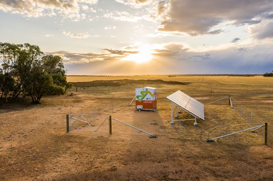 Power Grid Trials Standalone Solar Systems for Remote Homes