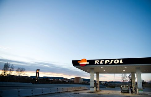 Repsol SA Gas Station