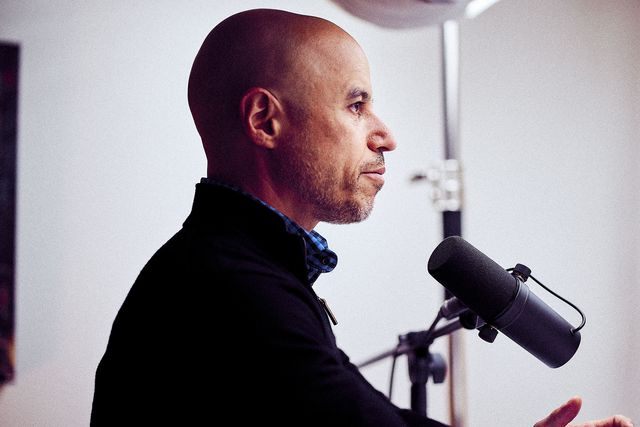 Zubin Damania photographed in his studio, August 5, 2020.
