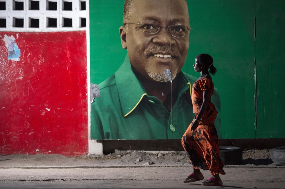 Africa News: Tanzania's President Magufuli Runs for Re-Election - Bloomberg