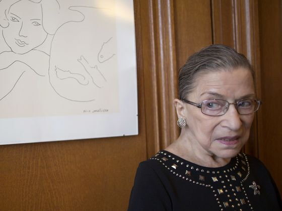 What Surgery? Ginsburg Churns Out Opinions in High Court Return