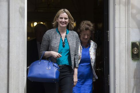 Energy and Climate Change Secretary Amber Rudd