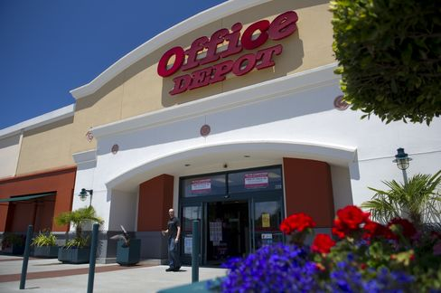 Office Depot Jumps as Starboard Becomes Largest Shareholder