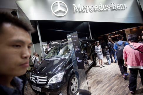 Daimler Rises on Report China May Buy Holding