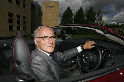 Aston Martin's Ulrich Bez