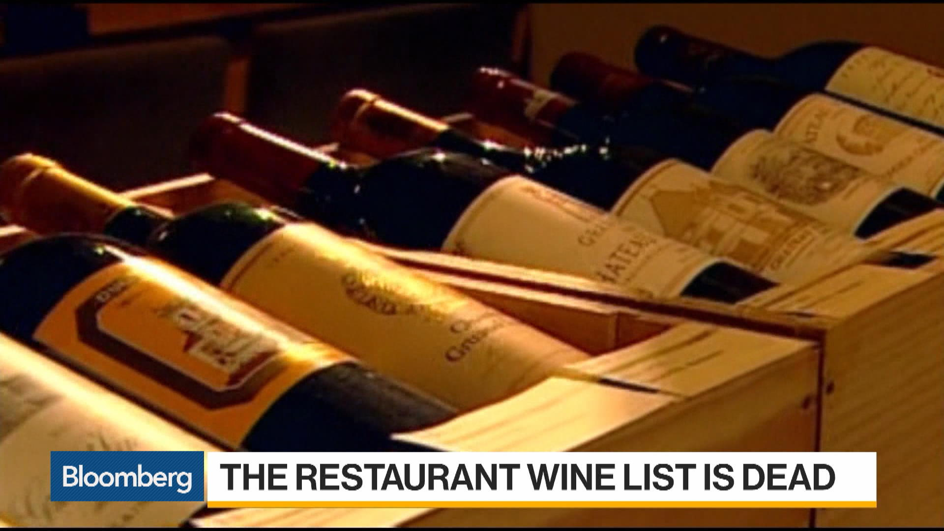 Is the Restaurant Wine List Dead?