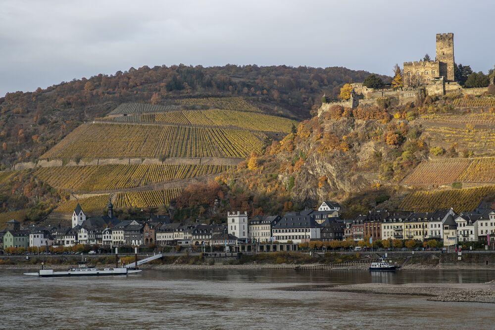 Cambio climático - El río más importante de Europa se está secando.