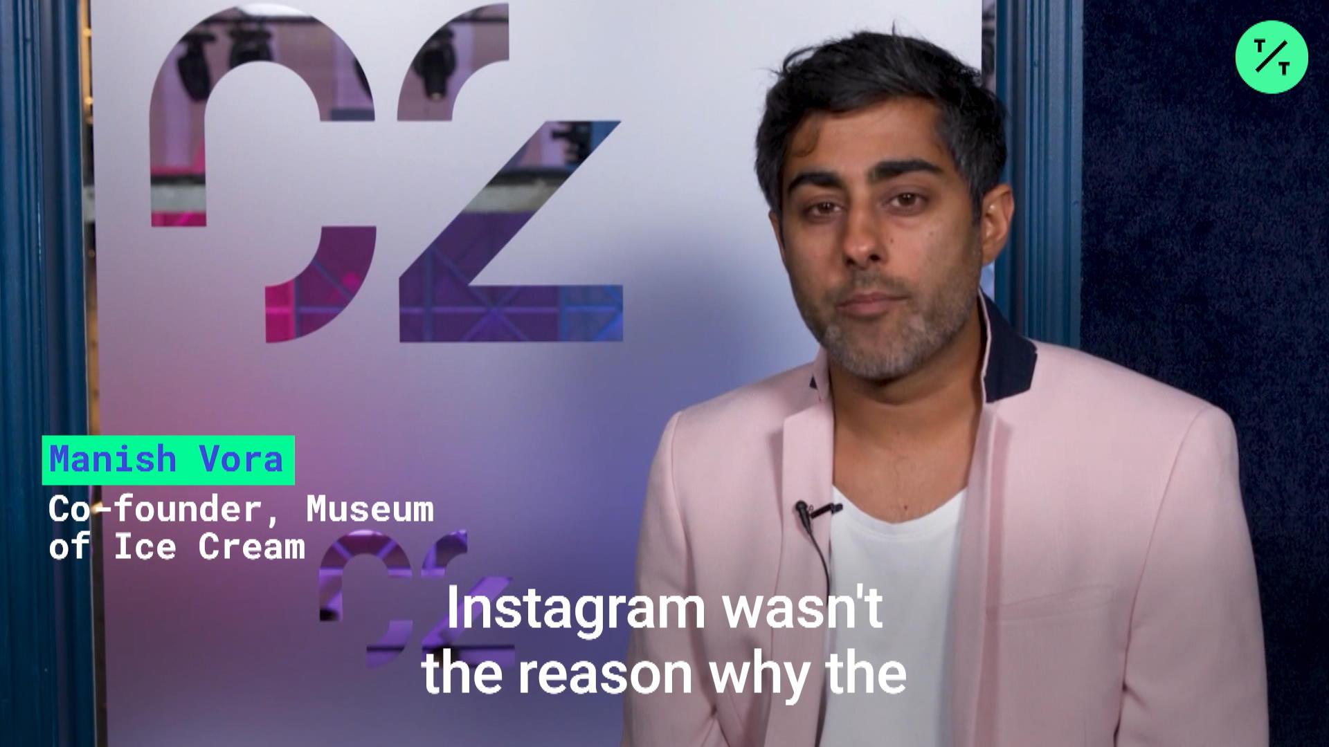 Museum of Ice Cream Co-Founder Talks