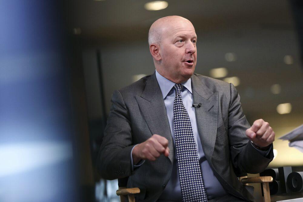 Goldman Sachs Is Considering Crypto Trades Beyond Futures, Solomon Says
