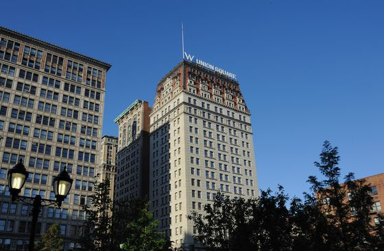 Marriott Plans to Showcase W Hotels' New Look in Union Square